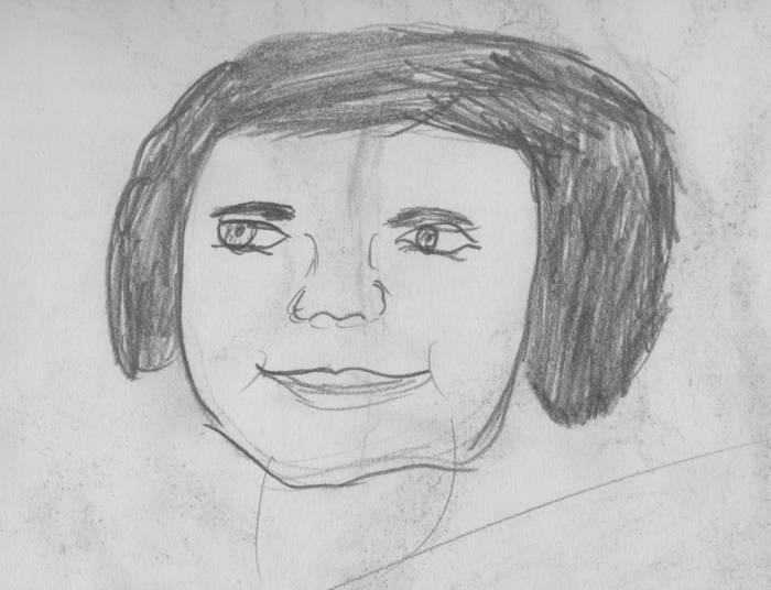 Мои способности к рисованию в первые дни - Ронни Рэйнер Лартер