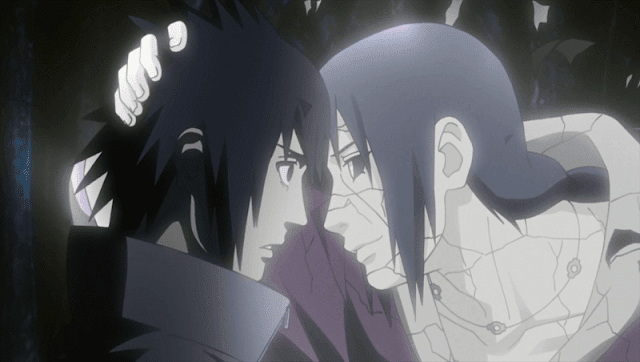 itachi selalu melindungi sasuke
