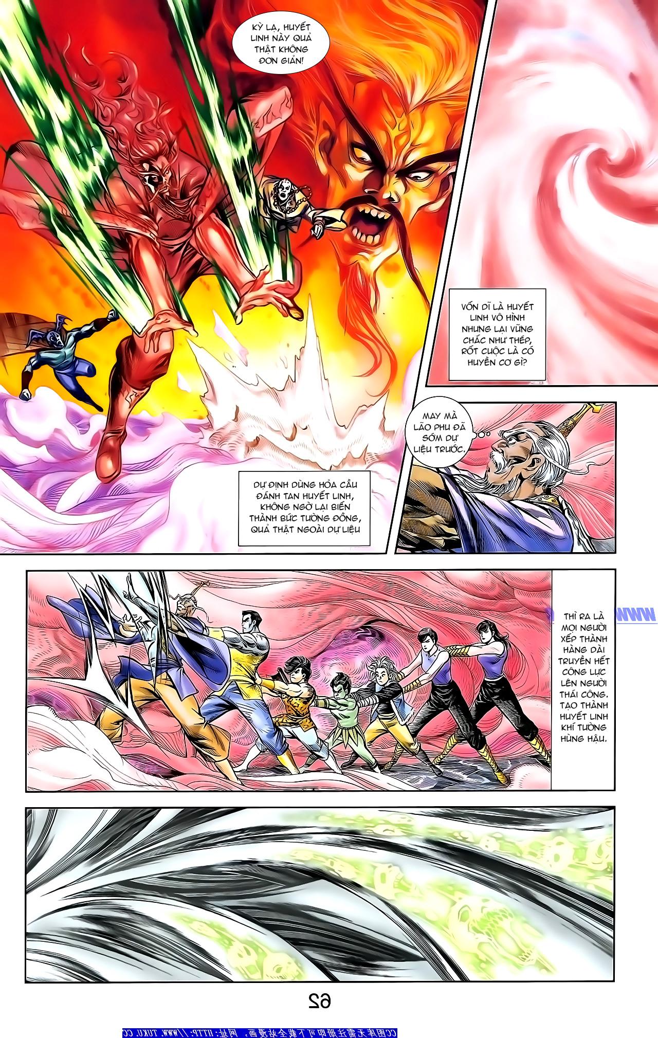 Cơ Phát Khai Chu Bản chapter 154 trang 20