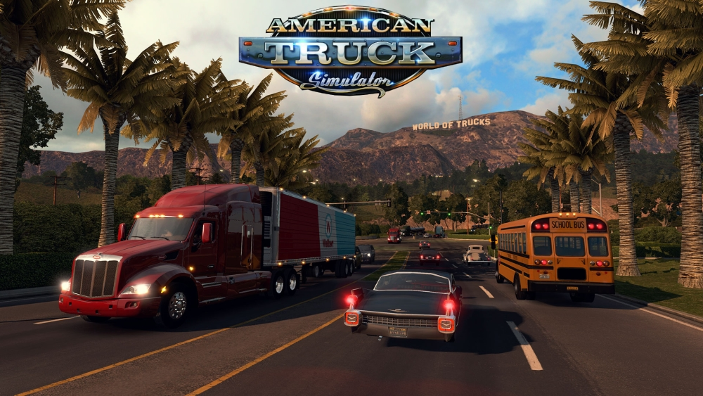 American Truck Simulator Download Poster