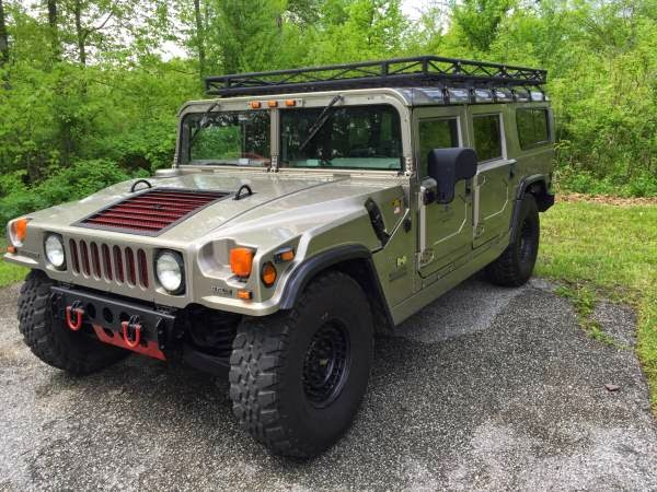 Rare Color 2001 Hummer H1 Auto Restorationice