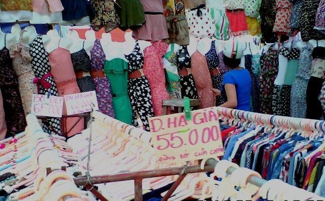 Những khu chợ gần đây ở Hà Nội