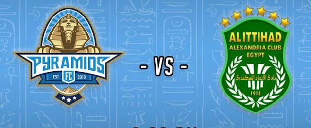 موعد مباراة الاتحاد السكندري وبيراميدز بث مباشر بتاريخ 16-01-2020 الدوري المصري