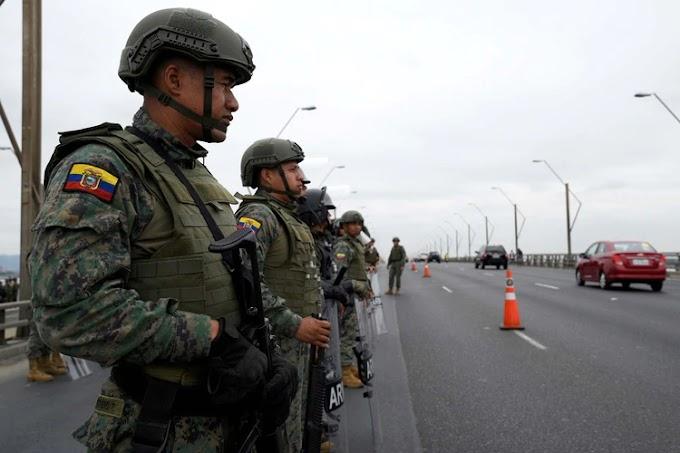 Crisis en Ecuador: el Ejército levantó durante ocho horas el toque de queda en Quito