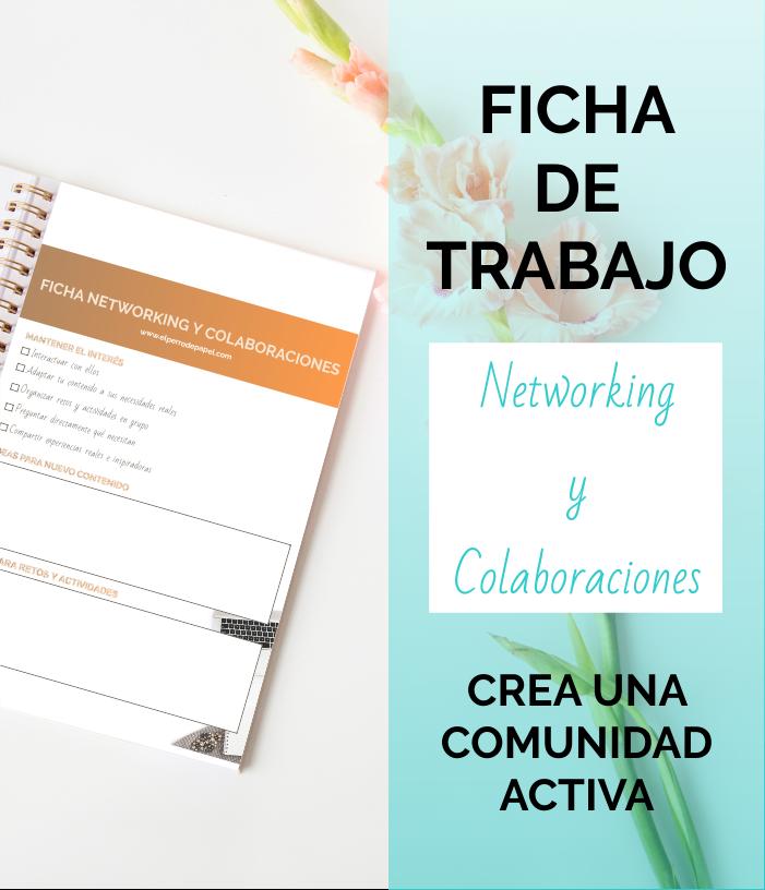 ficha para hacer networking con referentes de tu nicho