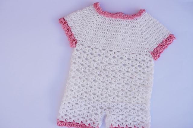 4 - Crochet Imagen Body,pelele o enterizo a crochet y ganchillo por Majovel Crochet