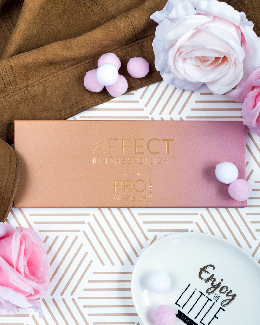Affect Cosmetics In the Spotlight makijaż, swatche, opinia