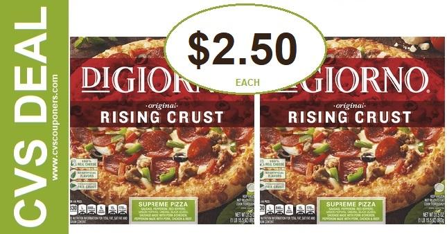 Digiorno Pizza CVS Coupon Deal 2-9-2-15