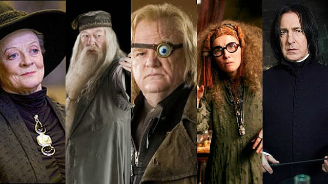 With which Hogwarts professor would you have a friendship