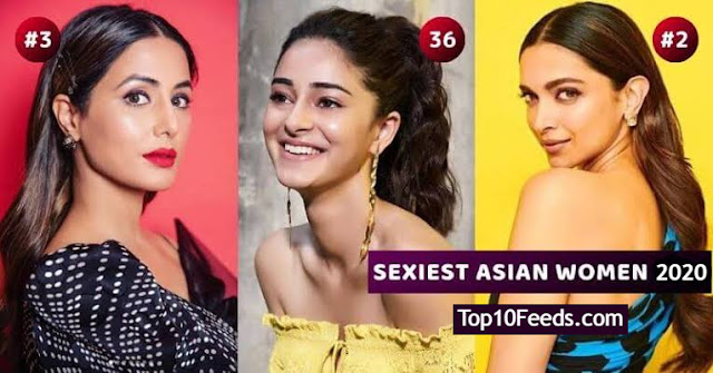 Top 10 Sexiest Asian Female Of The Decade 2020