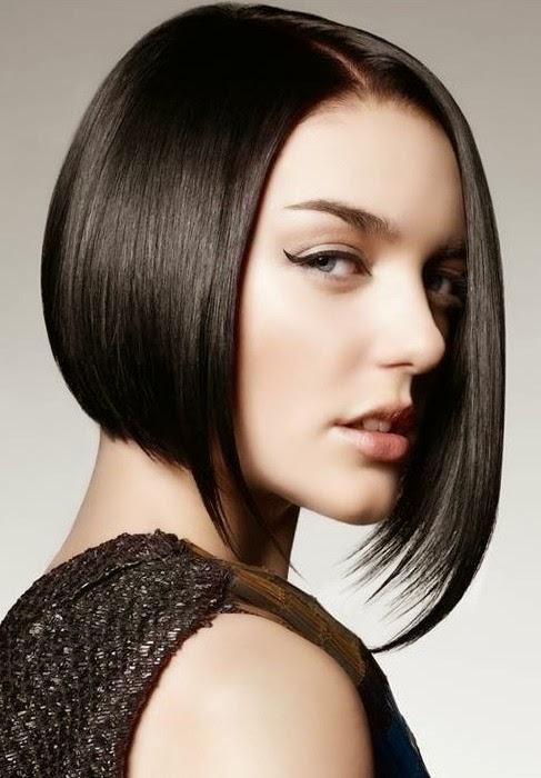 Gambar Model Rambut Pendek Untuk Wanita Model Jilbab - Gaya rambut pendek depan