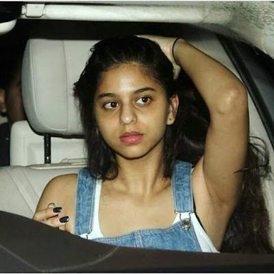 Bollywood Actress Suhana Khan  IMAGES, GIF, ANIMATED GIF, WALLPAPER, STICKER FOR WHATSAPP & FACEBOOK