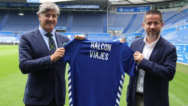 El Alavés renueva con Halcón Viajes y se pasa a los eSports
