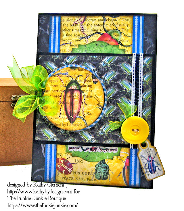 Frilly and Funkie: Saturday Showcase: Graphic 45 Flutter Trifold Tag