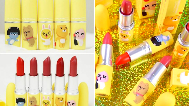 Kakao Friends makeup collections