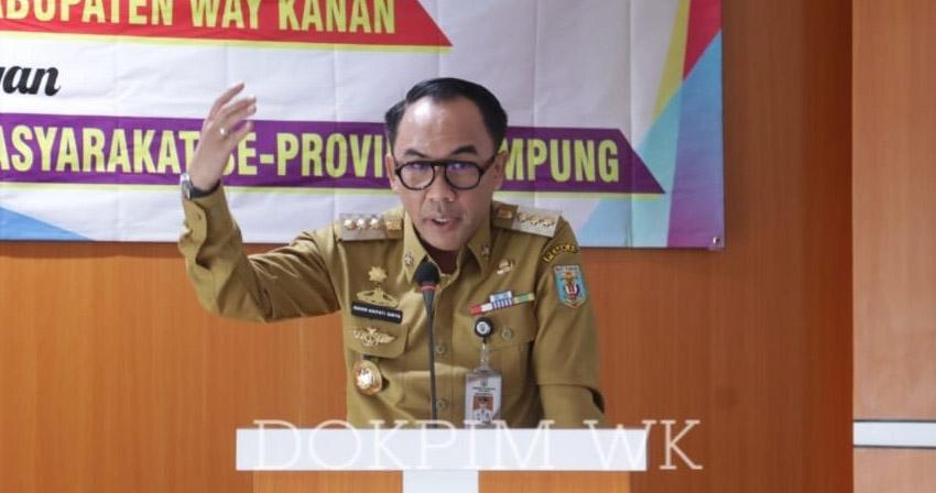 Lakukan Inonasi Pendidikan, Didikbud Waykanan Tantangani MoU Dengan DPD Forum PKBM