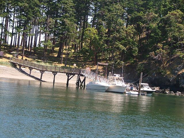 James Island State Park dock