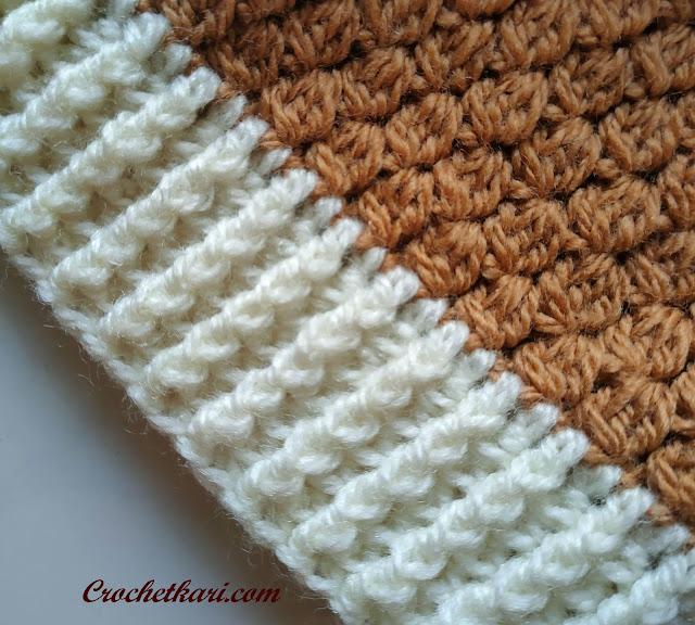 Crochetkari Flora beanie pattern