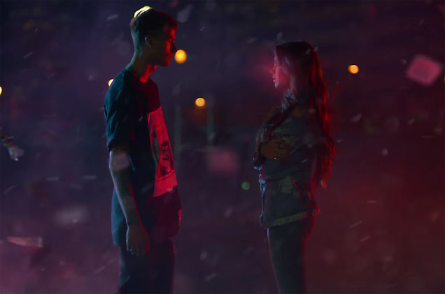 "Machine Gun Kelly Premieres ""At My Best"" Video ft. Hailee Steinfeld"