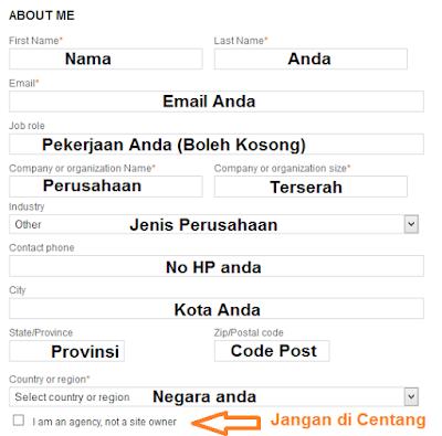 Cara Daftar dan Submit Sitemap di BING 5