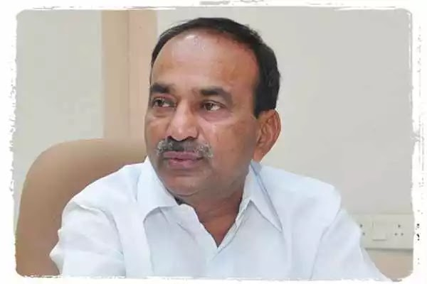 Eetala Rajendra resigns from TRS, amid the conflict with CM KCR