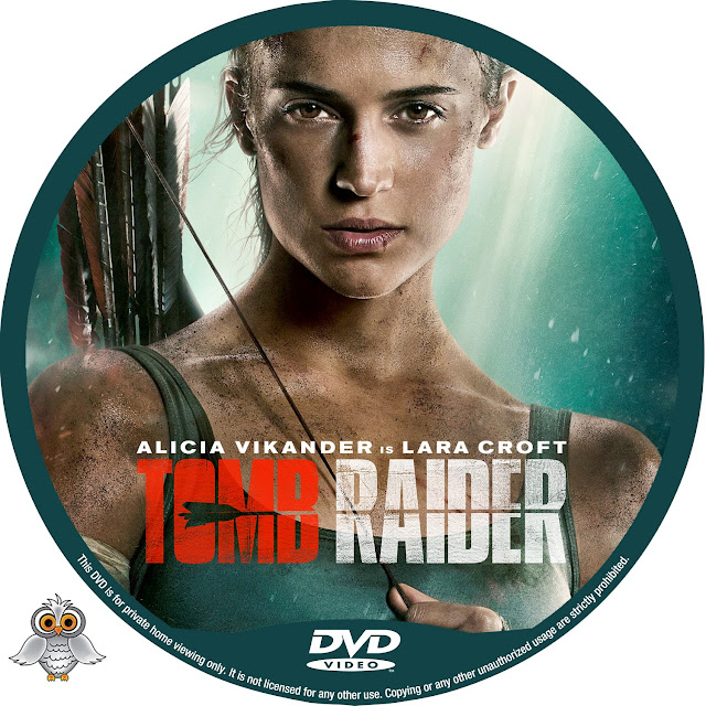 Tomb Raider DVD Label