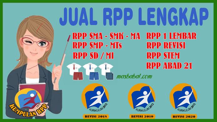 Anda Mencari RPP 1 Lembar Lengkap Situs Masbabal.Com menjual RPP 1 Lembar Lengkap. Berapa Harga RPP 1 Lembar Lengkap Per KD.