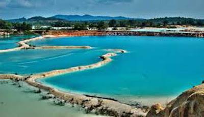 Danau Biru Bintan.
