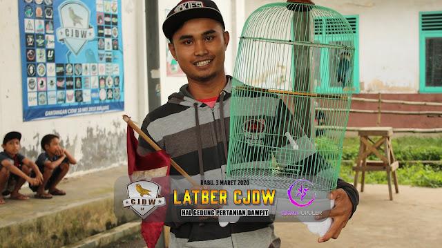 Jawara Lovebird M3 B - Lovebird Buronan milik Om Nanok dari Mataram Dampit