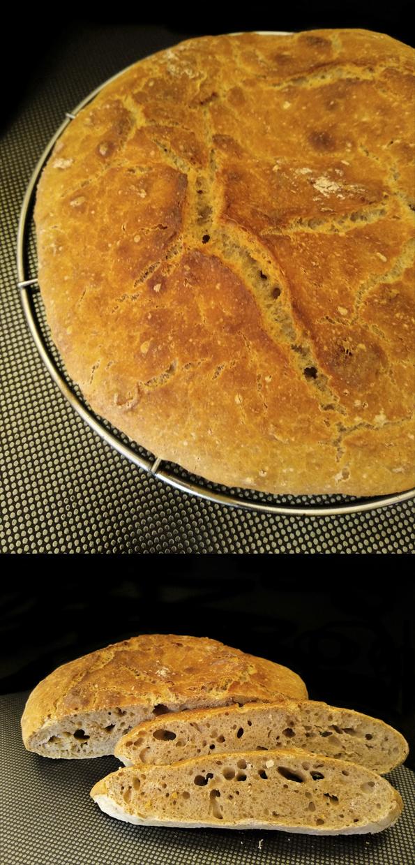 Pan sin amasado tostas hummus la cocinera novata horno panaderia