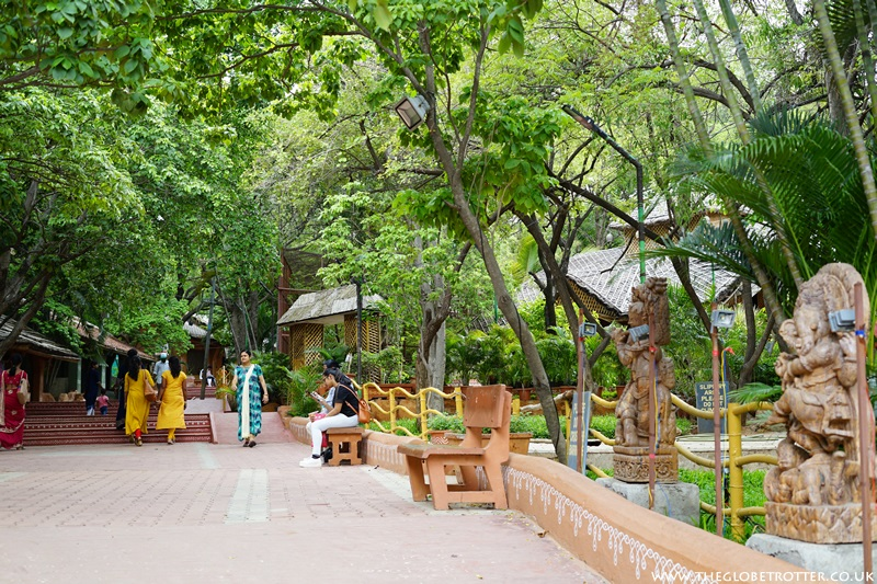 Recreational areas at Shilparamam