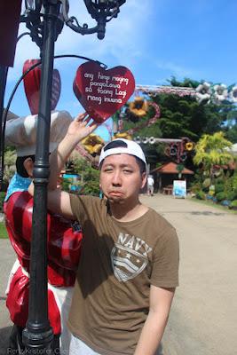 Renz Cheng in Baker's Hill Palawan