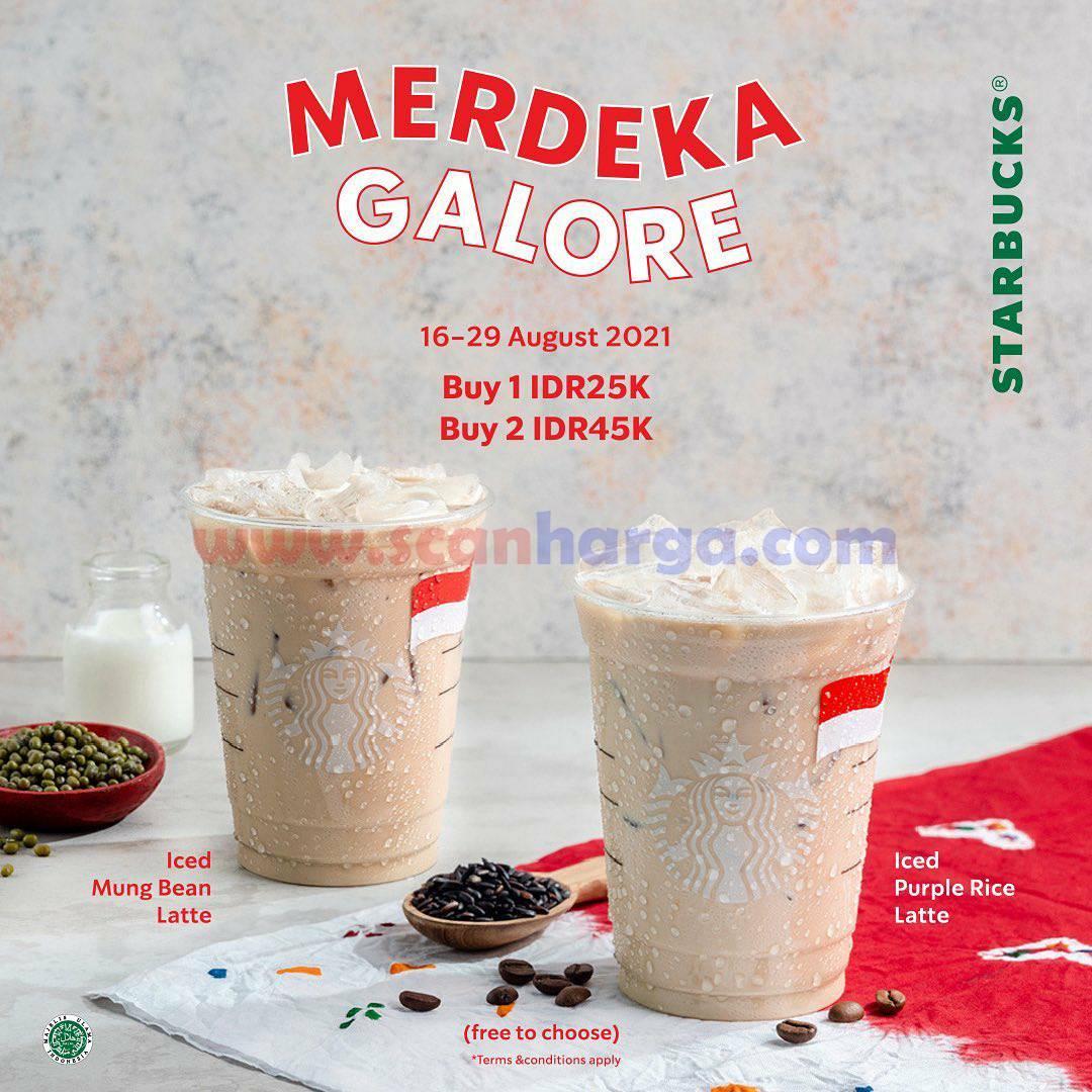 Promo STARBUCKS Terbaru MERDEKA GALORE