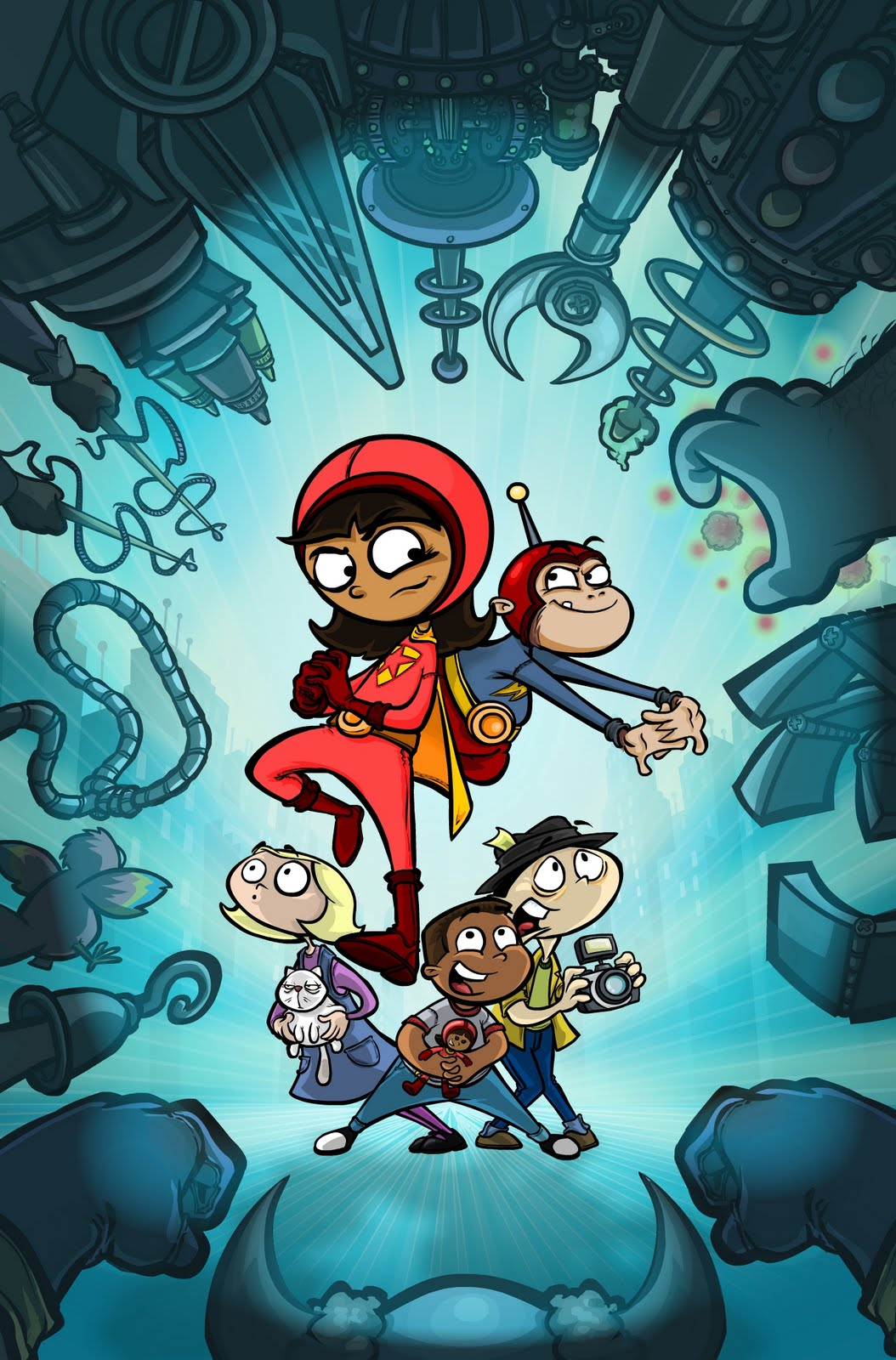 WordGirl Comic Book Covers | Steve Young's Blog? Yes.