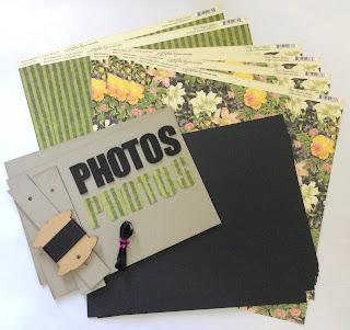 Post Bound Album Kit My Creative Spirit