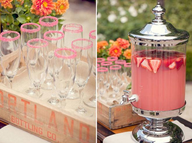 wedding trends drink stations belle the magazine. Black Bedroom Furniture Sets. Home Design Ideas