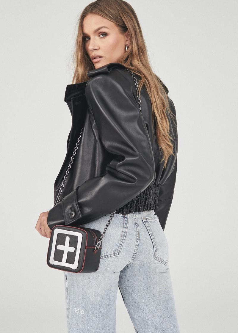 Celebrity stylist Maeve Reilly styles Ksubi's fall 2021 campaign.