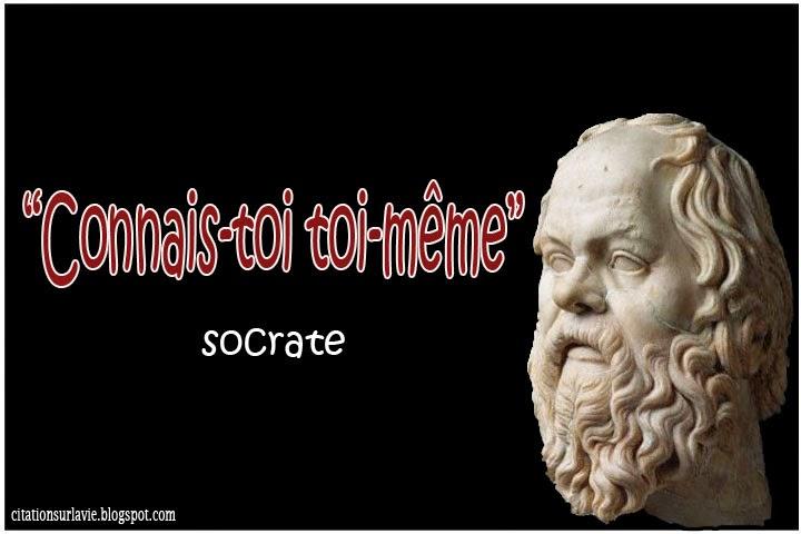 Belle citation philosophique socrate