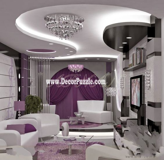 latest pop designs false ceiling designs for living room
