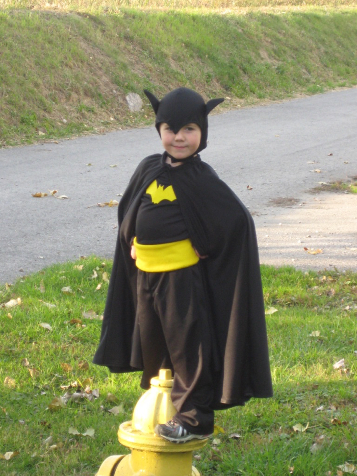 handmade Batman Halloween costume
