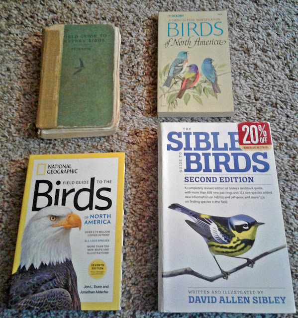 50 years of bird field guides