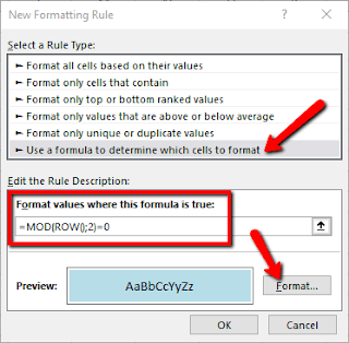 Cara Mempercantik Tampilan Lembar Kerja Excel