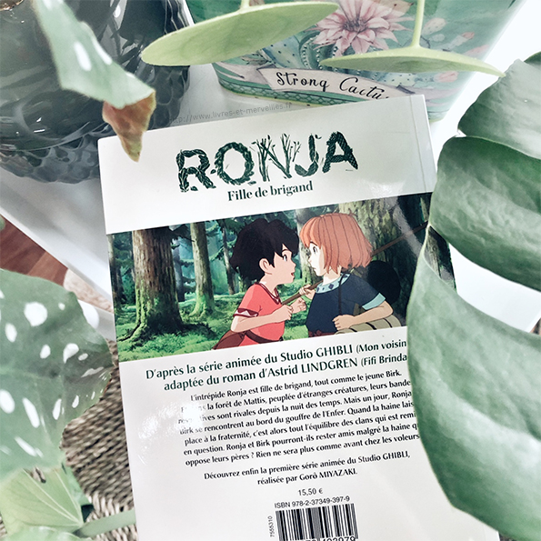 Anime comics : Ronja fille de brigand