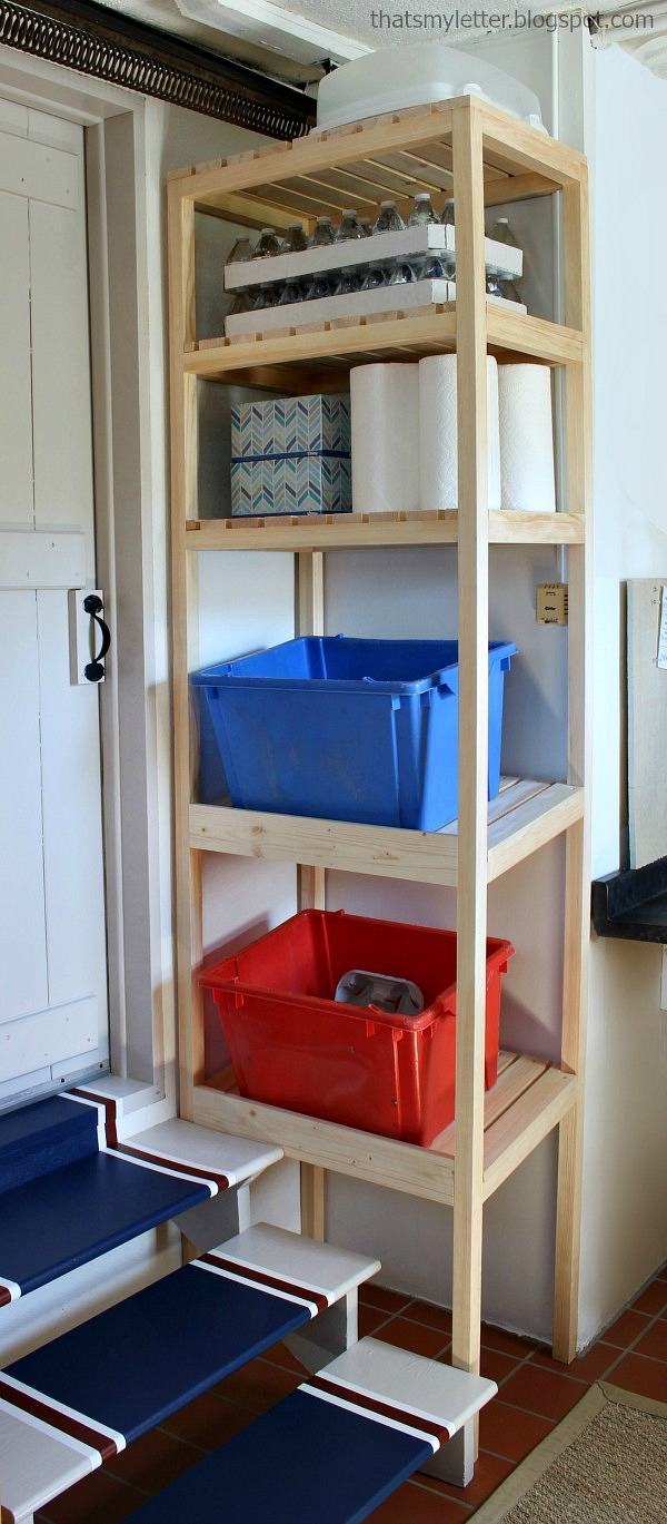diy recycling and storage tower free plans