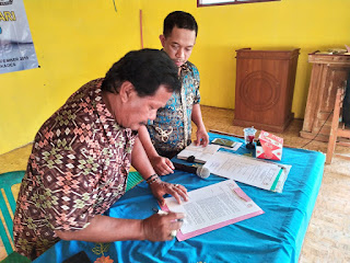 Rapat Pleno Penetapan Calon Kades Mekarsari Tahun 2019