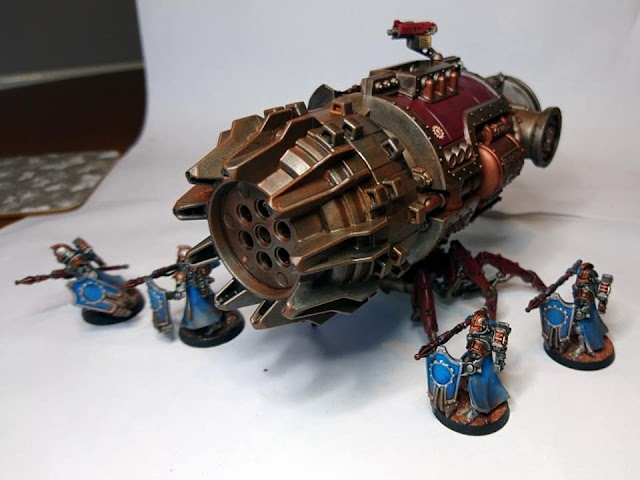 What's On Your Table: Converted Termite Assault Drill