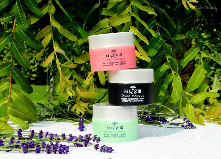Nuxe Insta-Masque Maseczki ekspresowe recenzja