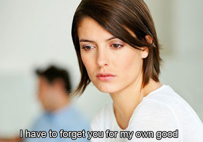 Forget ex-boyfriend
