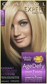 Nice'n Easy Age Defy Permanent Hair Dye Ext Light Blonde 10