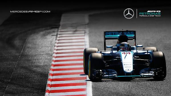 Lewis Hamilton Mercedes Petronas F1 2016